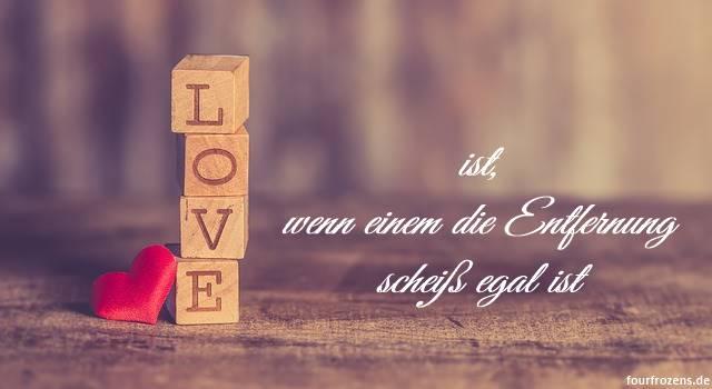 Liebe ist...sich trotz Entfernung zu finden